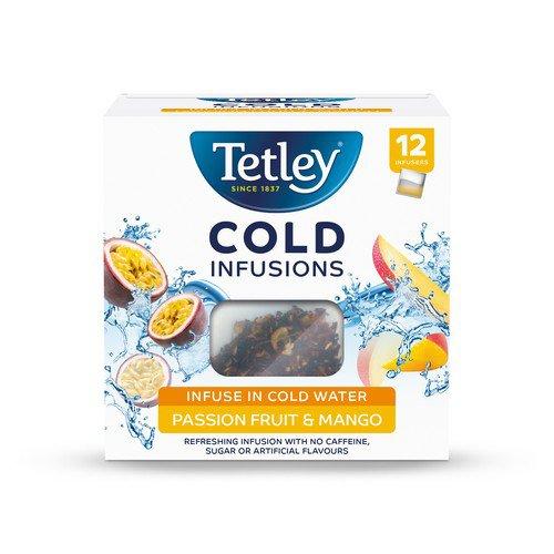 Tetley ColdInfusn PassnFruits&Mango P12