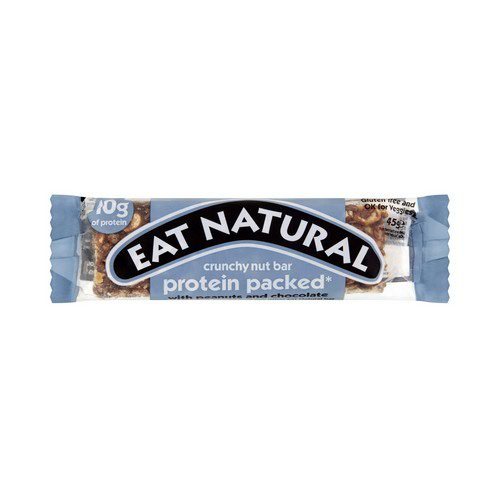 Eat NaturalBar Peanut Chocolate 45g Pack 12