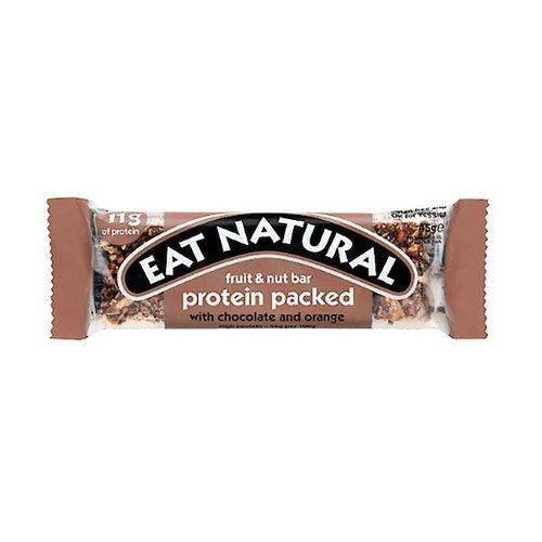 Eat NaturalBar Chocolate Orange 45g Pack 12