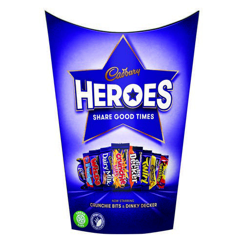 Cadburys Heroes 185G