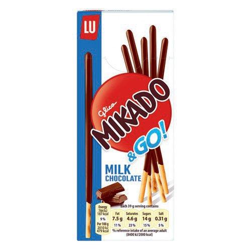 Mikado Milk Sticks Biscuit On The Go 39G X 24
