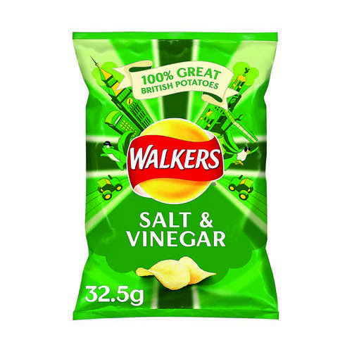 Walkers Salt & Vingegar Pk32