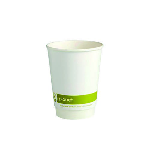 Planet 12Oz Double Wall Cups Pack 25