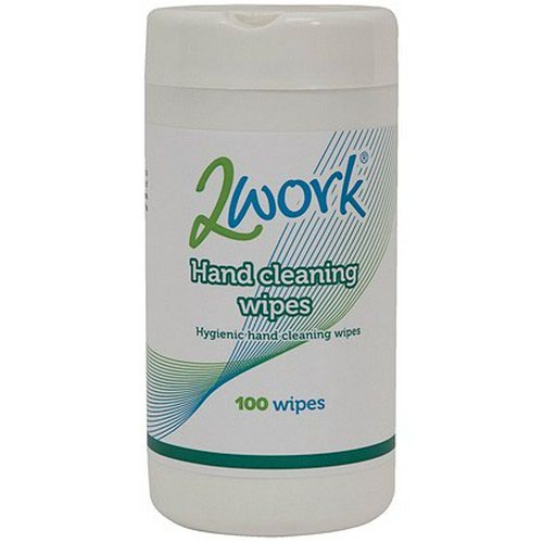 2Work Hand Cleaning Wipes (Pack of 100) DB50835
