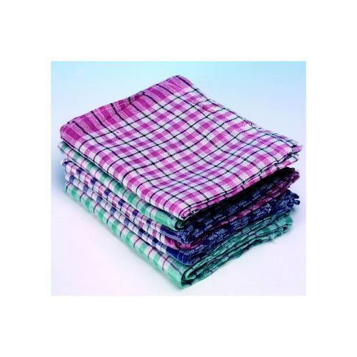 Tea Towels Check Pack 10