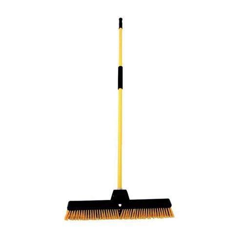 PVC Bulldozer Yard Broom