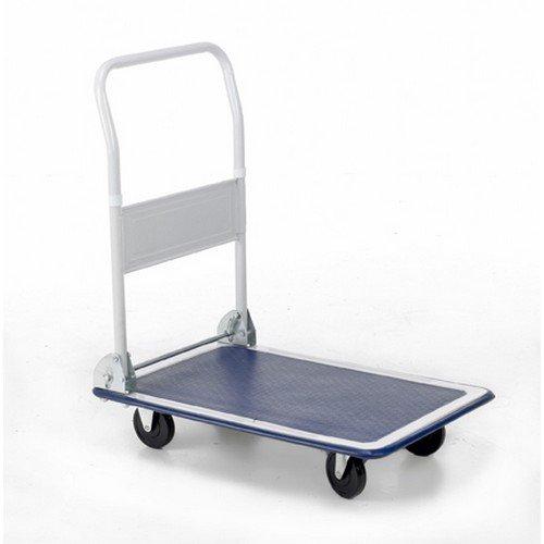 Folding Flatbed Trolleys Capacity 150Kg Open H810xW470xD730mm Folded H230mm Wheels/Castors 100mm