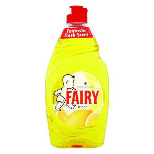 Fairy Liquid Lemon 433ml Pack 2
