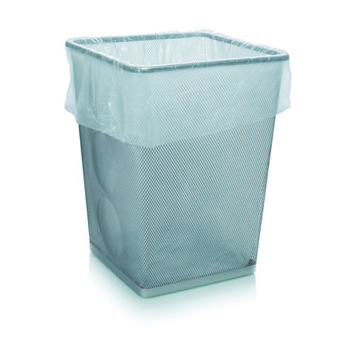 Initiative White Square Bin Bags Box 1000 5/6 micron