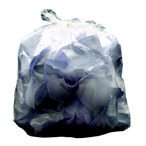 "Medium Duty Clear Sacks 18 x 29 x 38"" Box 200"