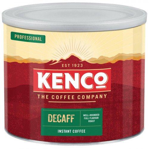Kenco Decaffeinated Instant Coffee Tin 500g