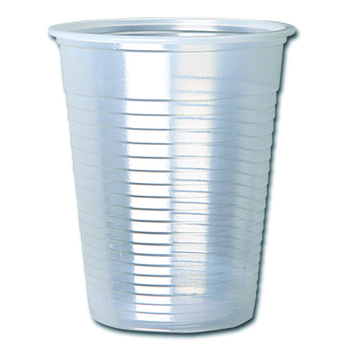 Initiative Clear Water Cups 7oz/20cl Pack 1000