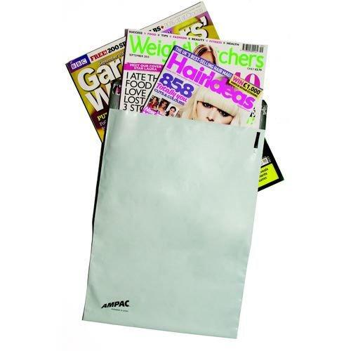 Keepsafe LightWeight Envelope Polythene Opaque C5 W162xH230mm Peel & Seal Pack 100