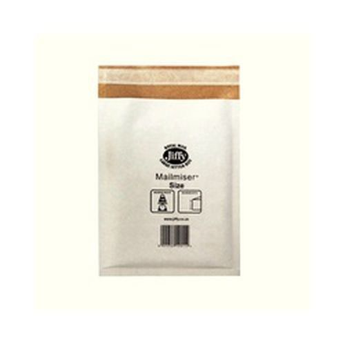 Jiffy Mailmiser Protective Envelopes Bubble-lined No.6 White 290x445mm Pack 50
