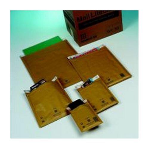 Mail Lite Gold Lightweight Postal Bag H/5 270x360mm Internal Pack 50