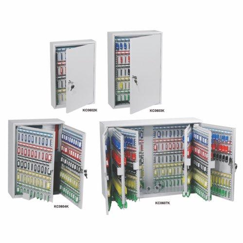 Phoenix KC0601K 42 Hook Commercial Key Cabinet