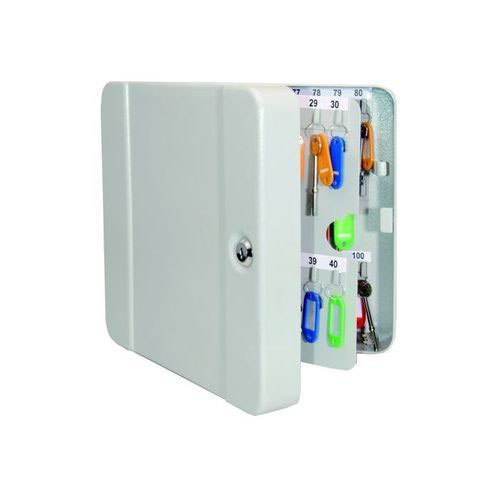 Helix Standard Key Safe Steel With Cylinder Lock And Fixings 100 Key Capacity