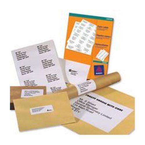 Avery Copier Labels 105x37mm 16 per Sheet White 1600 Labels