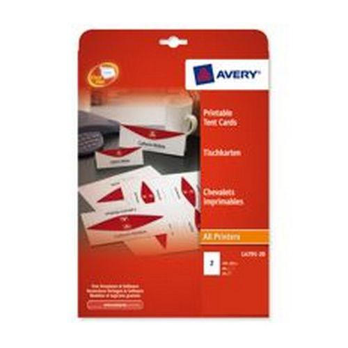Avery Printable Tent Card 4TV
