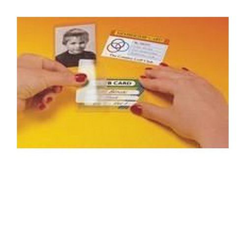 Pelltech Self Laminating Card Credit Card Size Pack 10