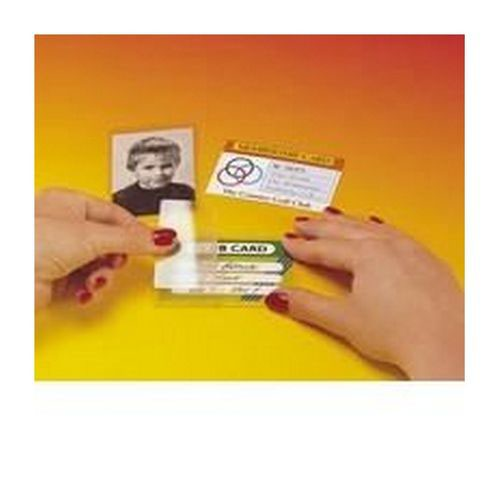 Pelltech Self Laminating Card Credit Card Size Pack 100