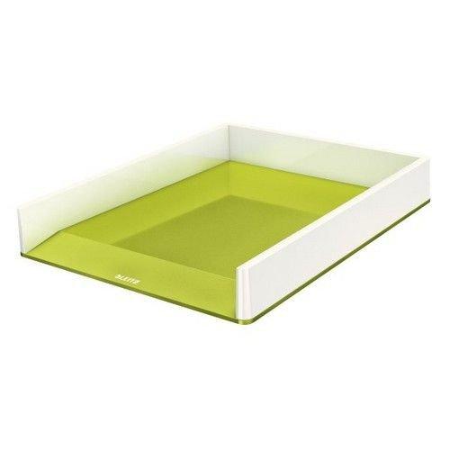 Leitz Letter Tray WOW Duo Colour white/Green