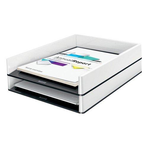 Leitz Letter Tray WOW Duo Colour White/Black