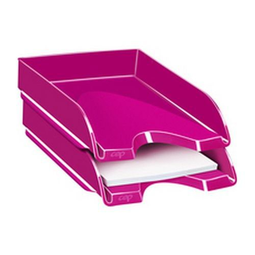 CEP Pro Gloss Letter Tray Will Hold Documents Up To 240 x 320mm In Size 100% Recyclable Pink