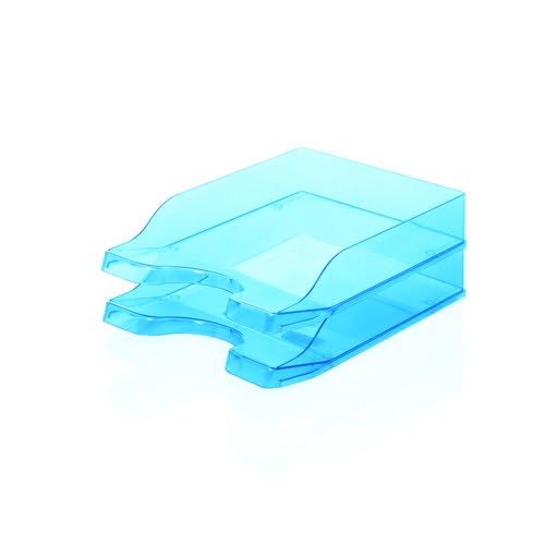 Initiative Letter Tray Ice Blue