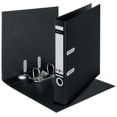 Leitz 180° Recycle Lever Arch File 50mm A4. Black