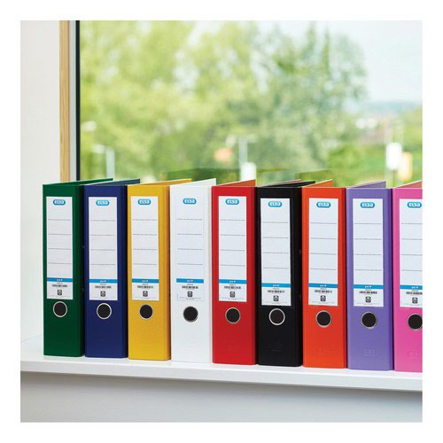Elba PVC Lever Arch File 70mm A4 Red