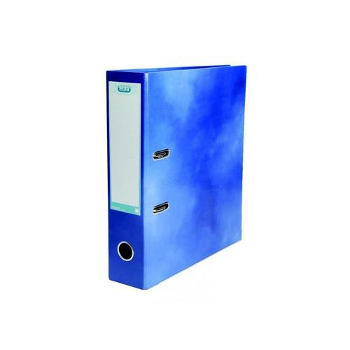 Elba Classy Lever Arch File A4 Laminated Paper On Board Blue