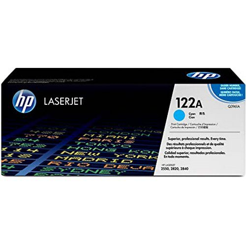 Hewlett Packard Color Laserjet 2500/2550 Smart Print Cartridge Up to 4000 Pages Cyan Q3961A