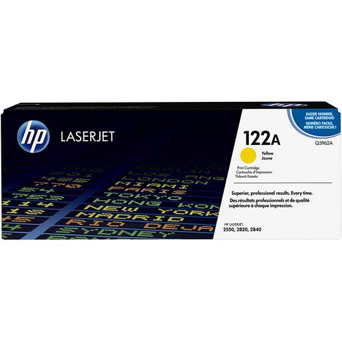 Hewlett Packard LaserJet 2500/2550 Smart Print Cartridge Up to 4000 Pages Yellow Q3962A