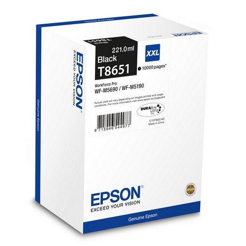 Epson High Yield Ink Cartridge Black