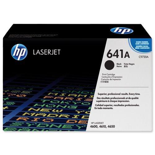 Hewlett Packard Laserjet 4600N Cartridge Black C9720A