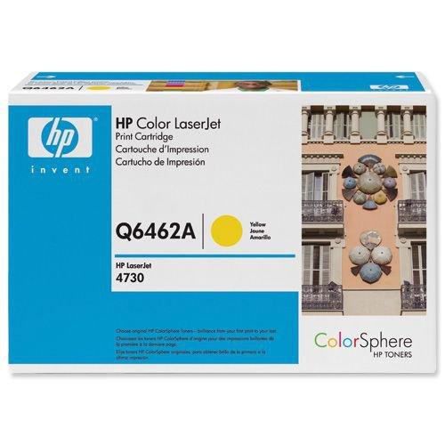Hewlett Packard Toner Cartridge Yellow Q6462A