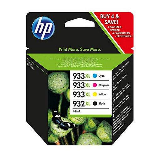 HP 932Xl/933Xl Toner Cartridge Combo Pack