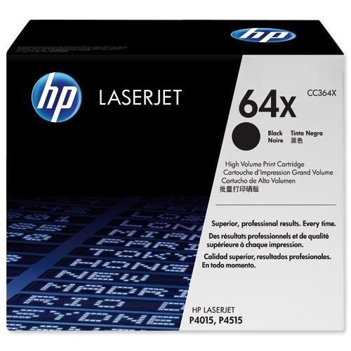 Hewlett Packard Toner Cartridge High Capacity Black CC364X
