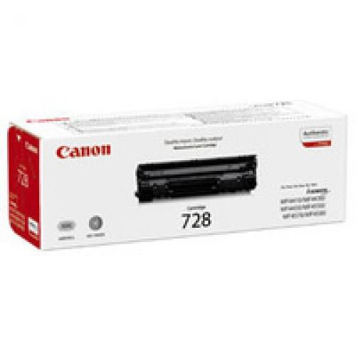 Canon 3500B002AA 728 Black Toner