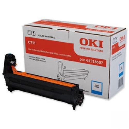 Oki 44318507 Cyan Imaging Drum