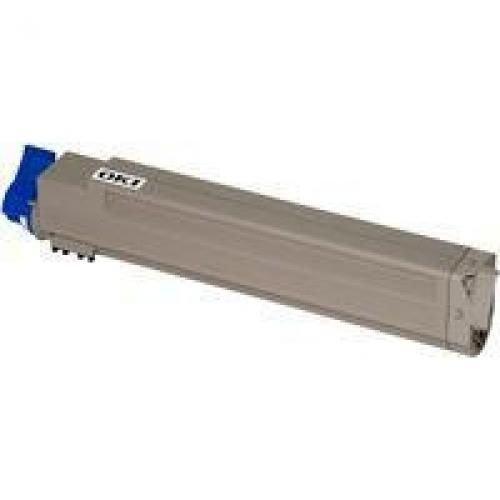 Oki 43837131 20K Pages Cyan Toner Cartridge