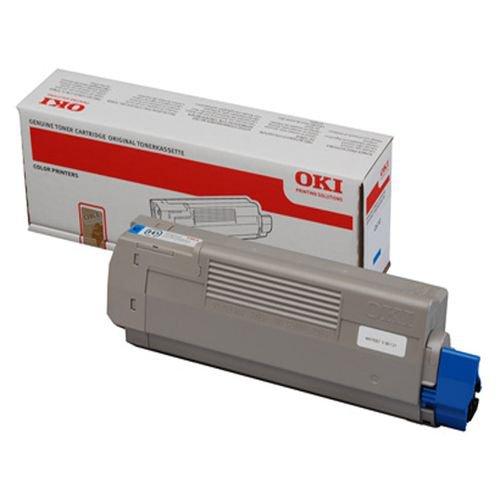 Oki 44059167 7.3K Pages Cyan Toner Cartridge