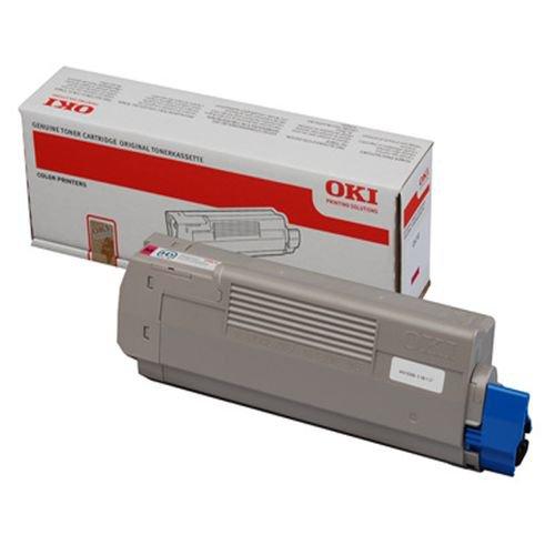 Oki 44059166 7.3K Pages Magenta Toner Cartridge