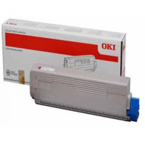 Oki 44844506 10K Pages Magenta Toner Cartridge