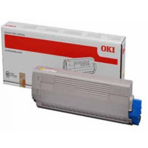 Oki 44844505 10K Pages Yellow Toner Cartridge