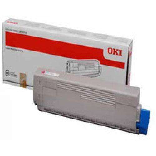Oki 44844614 7.3K Pages Magenta Toner Cartridge