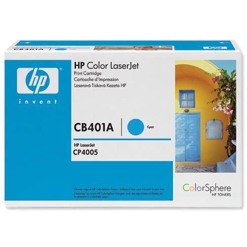Hewlett Packard Laser Toner Cartridge Cyan for HP Color LaserJet CP4005