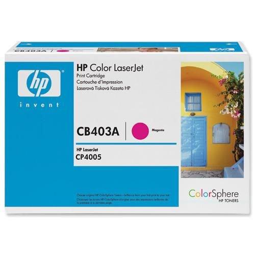Hewlett Packard Laser Toner Cartridge Magenta for HP Color LaserJet CP4005