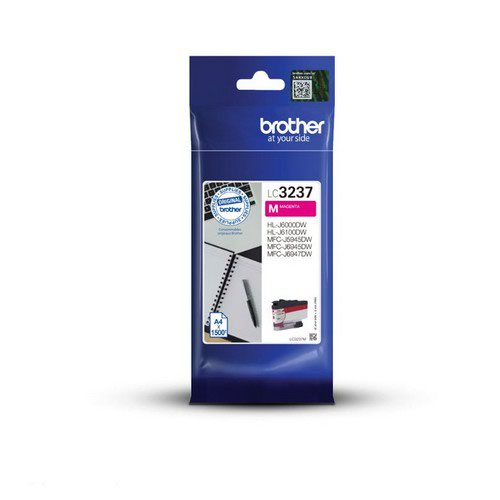 Brother LC3237M Magenta Ink Cartridge Yield 1500 Pages